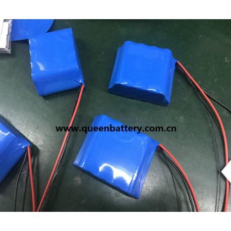 3S3P 18650 QB18650 11.1V 12V8AH 12V9AH solar battery with pcb 8A