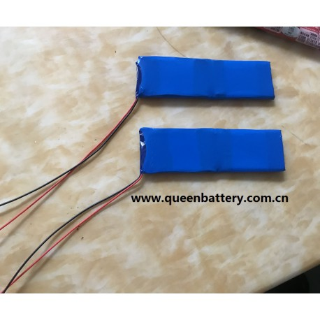 1s2p li-po li-polymer lead light battery pack 5030120 1700mah with pcb