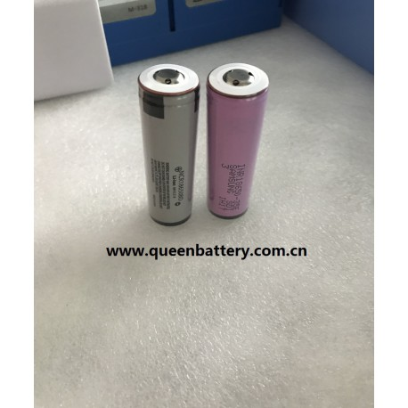 Samsung 18650 35E 35ET INR18650-35E 3.7V 3500mah with button top with protection/protected flashlight battery cell