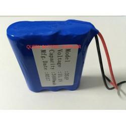 3S1P 2600mah 3000mah 3200mah 3400mah 3500mah 11.1V 18650 for SANYO panasonic lg 18650 battery pack