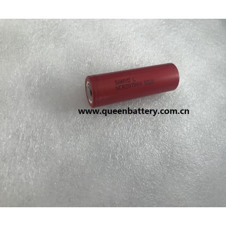 SANYO 20700 NCR20700A 20700A 3100mAh 30A high drain battery  3.6V