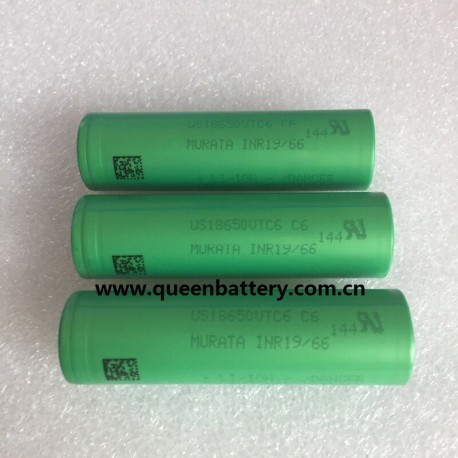 SONY VTC6 18650 C6 3000mAh 30A BATTERY CELL 3.6V