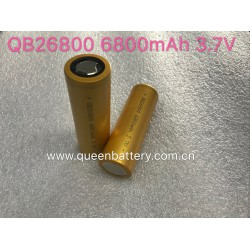 QB26800 li-ion battery cell QB 26800 new model 6800mAh 30A 3.7V