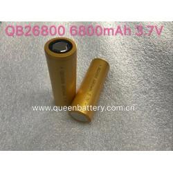 QB26800 li-ion battery cell QB 26800 new model 6800mAh 30A 3.7V