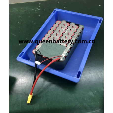 22.2V 21.6V 6S9P 38AH SANYO 20700B NCR10700B 38.2AH UAV battery pack with XT90 XH-7pin connector