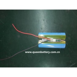 7.2v 7.4v 2s1p 21700 samsung 50e battery pack with pcb 3A-6A INR21700-50E with lead wires 22awg