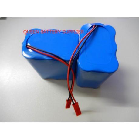 11.1V 3S2P 18650 5200mah 6000mah 6200mah 6400mah 6800mah 7000MAH for sanyo panasonic lg 18650 battery pack