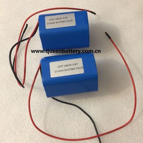 Panasonic NCR18650B 18650 NCR18650G 1S7P battery pack 3.6V 25.2Ah 3.7V25AH 3.7V24.5AH SANYO GA LG M36 with PCM/PCB 10A