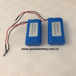 18650 7.4v rechargeable battery pack 3500mah samsung 18650 35e lg 18650 mj1 sanyo ga with pcm 3A for led light