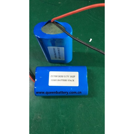 1s2p lg 21700 m50 m50t INR21700M50T 3.7v 10A with pcb 5-10A battery pack