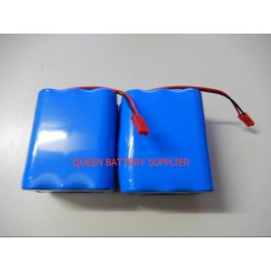 11.1V 3S2P 18650 5200mah 6000mah 6200mah 6400mah 6800mah 7000MAH for sanyo  lg 18650 battery pack