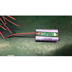 1s2p 18650 lg f1l 3.7V 3.6V 6800mah  INR18650F1L with PCB 5A 3mos battery pack