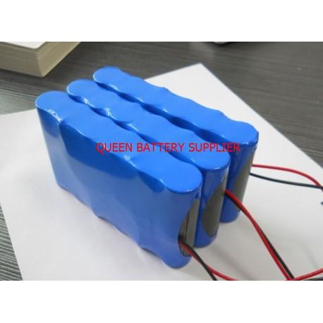 11.1V 3S2P 4400mah 5200mah 6000mah 6200mah 6400mah 6800mah 7000MAH 18650 for panasonic lg 18650 battery pack