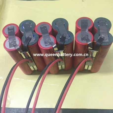 7.2v 7.4v 2s2p sanyo ga 18650ga battery pack 7000mah 7AH with PCB 8A
