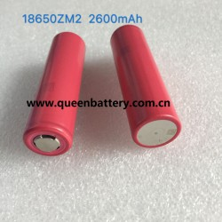 SANYO 18650 ZM2 UR18650ZM2 2600mah 5A battery cell 3.6V