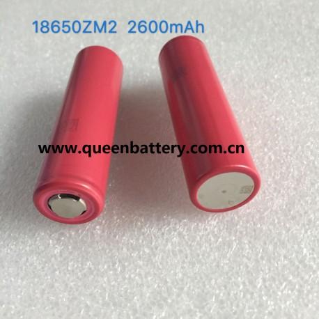 SANYO 18650 ZM2 UR18650ZM2 2600mah 5A battery cell 3.6V