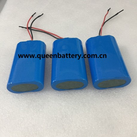 7.4V 21700 7.2V LG 21700 M50 M50T SAMSUNG 50E BATTERY PACK WITH PCM 6A with 22AWG silicone wires