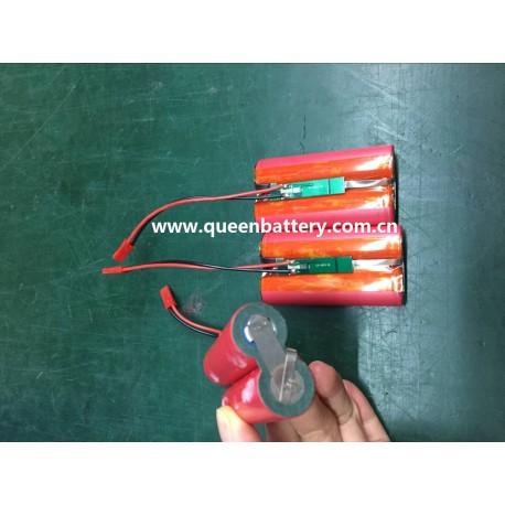2s1p SANYO 18650 GA NCR18650GA 3500mAh 7.2v 7.4v with pcm/pcb 3A battery pack