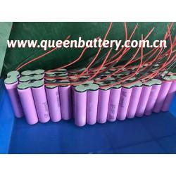 18650 SAMSUNG INR18650-35E 35ET 35E LED light 7.4V 3500mAh battery pack with PCM