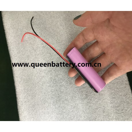 3.6v 3.7v 18650 1s1p li-ion battery pack samsung 35e lg mj1 sanyo ga 3500mah with pcb 3mos 5A con.