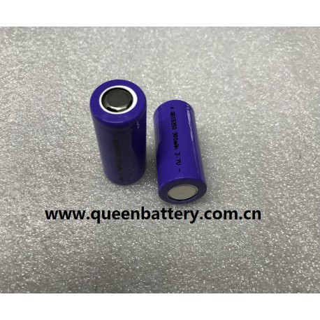 QB18350 900mAh 3.7V 10C high drain 9A e-cig battery cell
