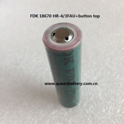 FDK SANYO NI-MH 1.2V 18670 HR-4/3FAU 4500mAh with button top battery cell