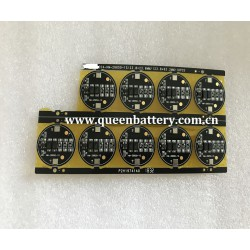 3.7V 1S 26650 PCB/PCM 3A con. 2 mos