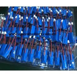 li-po li-polymer 401535 160mAh with PCM PCB 1S1P 3.7V battery pack