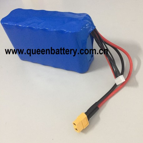 21700 SAMSUNG 50E M50 LG 6S2P  21.6V 22.2V  drone 10AH UAV battery pack with 14AWG silicon wire with XT60 connector
