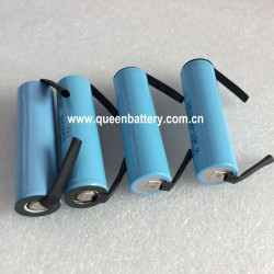 SAMSUNG 18650 INR18650-15M 15MM 1500mAh 3.7V 25A battery cell with tabs(TB)