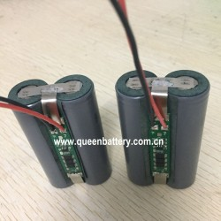 21700 LG INR21700M50T M50 1S2P 3.7V 3.6V 10AH 10000mAh rechargeable battery pack with PCM 5A(con.) 3mos pcb with 22awg