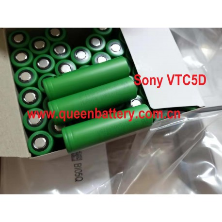 SONY 18650 VTC5D US18650VTC5D 2800mAh 25A battery cell