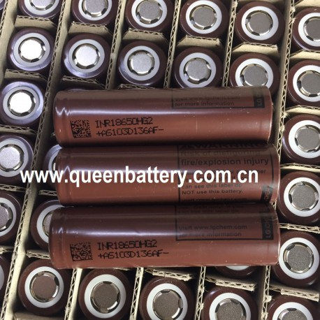 LG HG2 Chem 18650 I8650HG2 3000mAh 20A discharge li-ion battery cell
