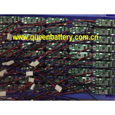 18650 11.1V 10.8V 3S1P SAMSUNG 2600mah ICR18650-26JM with PCB 3A with 3pin 12cm lead wire with TKP 2510/3 connector