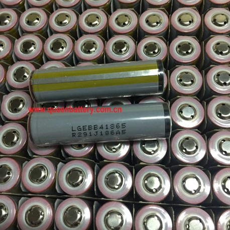 18650 LG ICR18650B4/B4L 2600mAh 3.7V 3.6V rechargeable battery cell with button top with PCB(ROUND) protection