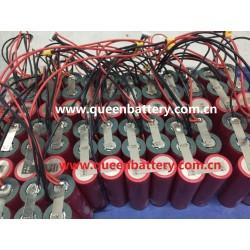 10.8V 11.1V 12.6V 3S2P 20700B SANYO 20700 NCR20700B 8.5AH 8500mAh with 20cm 24AWG XT30 and14cm JST balancer cable