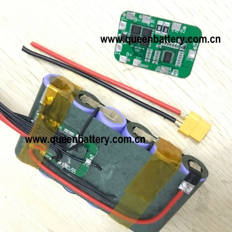 6S1P 22.2V 21.6V4AH 4000mAh SAMSUNG 21700 40T INR21700-40T with BMS(4A-20A) with XT60 connector with JST-XH 7S balancer
