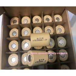 QB NI-MH 4/5sc 4/5SC2000mAh 1.2V battery cell 2000mah