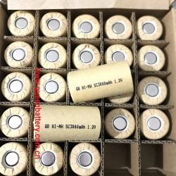 QB NI-MH SC SC3000mAh 1.2V battery cell 3000mah