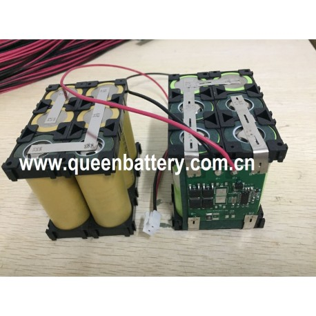3S2P 26650 11.1V 10.8V 10AH battery pack with PCB/BMS  15A