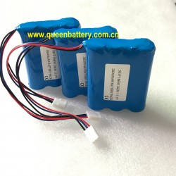18650 10.8V 11.1V 12.6V 3s1p samsung 26jm 26j 2600mah battery pack 2600mah with pcb/pcm with 10K NTC with TKP 2510/3 connector