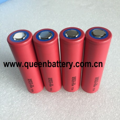 SANYO 20700B 20700 4250mAh NCR20700B high rate battery cell 20A 20700