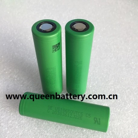 SONY VTC5  18650 C5 2600mAh 30A BATTERY CELL 3.6V