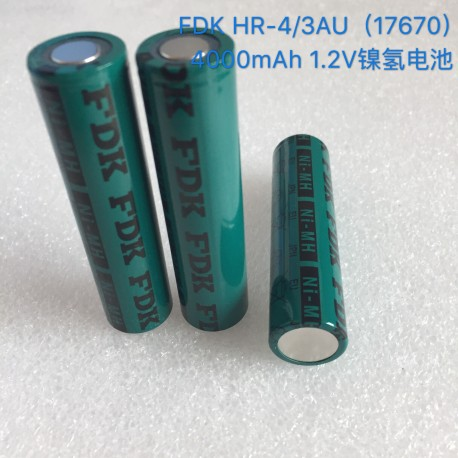 SANYO 17670 FDK 4000mah HR-4/3AU NiMH 1.2V battery cell