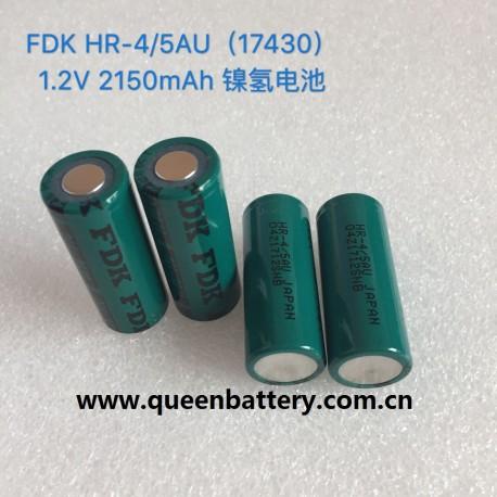 SANYO 17430 FDK 2150mah HR-4/5AU NiMH 1.2V battery cell