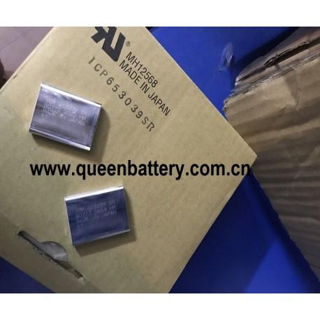 MAXELL 3.7V ICP653039 battery cell 653039 900mah battery cell