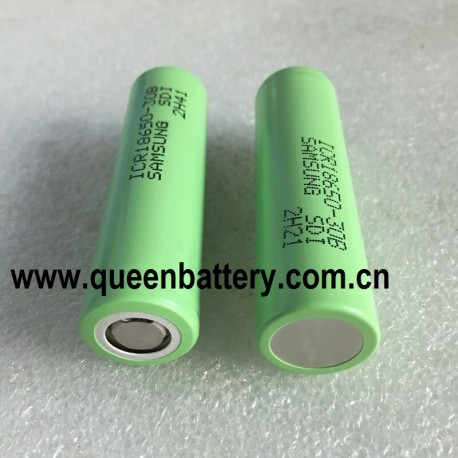 Samsung 30b 18650 ICR18650-30B  li-ion 3000mAh battery cell 3.7V