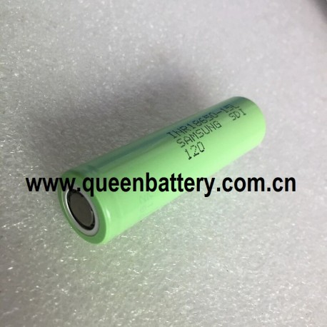 Samsung 15L 18650 INR18650-15L  18A li-ion rechargeable battery cell 3.7V