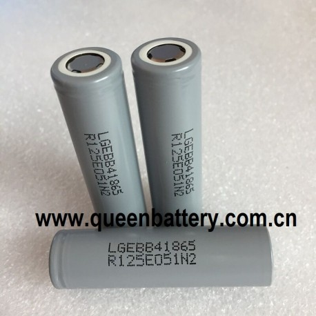 LG B4 ICR18650B4  18650 2600mAh 3.7V Li-ion battery cell