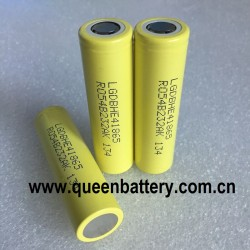 LG HE4 Chem 18650 I8650HE4 2500mAh 30A discharge li-ion battery cell 3.7V